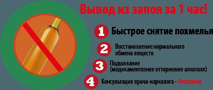 вылечить запой в Санкт-Петербурге