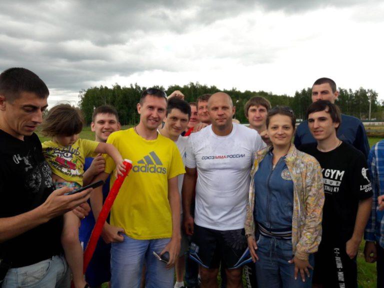 Федор Емельяненко посетил наш реабилитационный центр